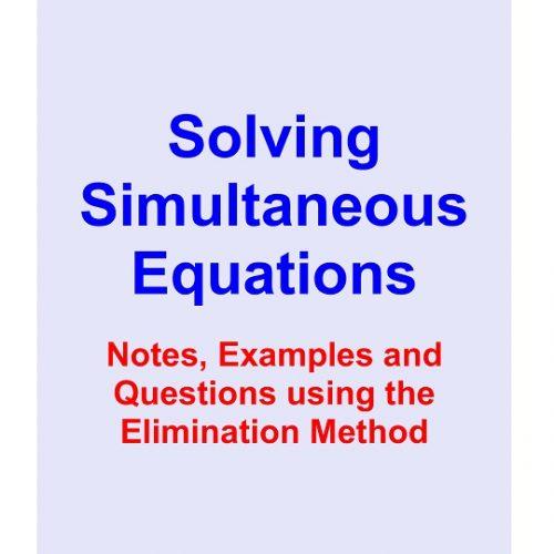 Solving Simultaneous